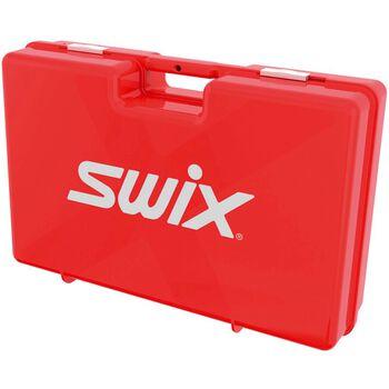 Swix T550 tom smørekoffert langrenn Rød