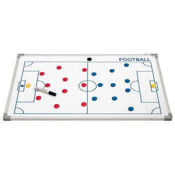 SportX  Taktikktavle til fotball stor Hvit