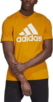 adidas Must Haves Badge of Sport t-skjorte herre  Gull