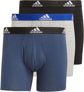 adidas Logo bokseshorts 3 pack herre Svart