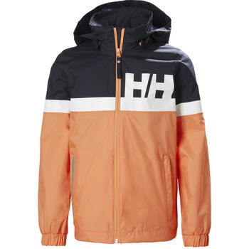 Helly Hansen Active Rain regnjakke junior Flerfarvet