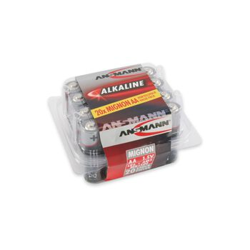 ANSMANN Redline AA batterier 20-pk Grå