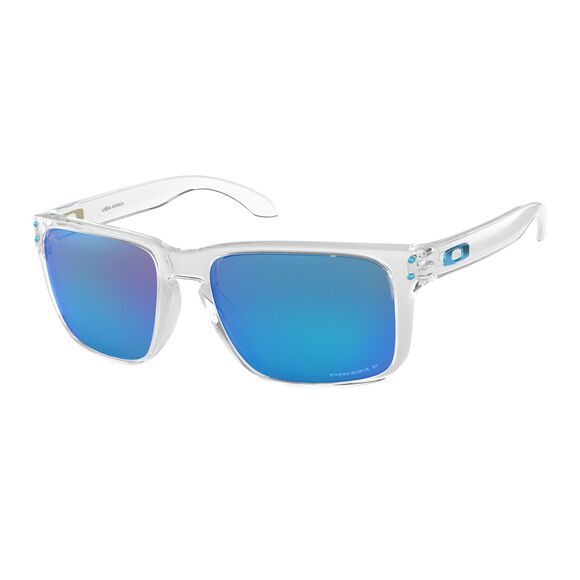 Holbrook XL Prizm™ Sapphire Polarized - Polished Clear solbriller