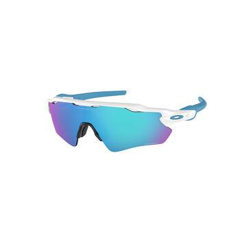 Oakley Radar EV Path Prizm™ Sapphire - Polished White sportsbriller Herre Grønn