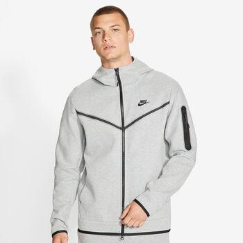 Nike Sportswear Tech Fleece hettejakke herre Grå