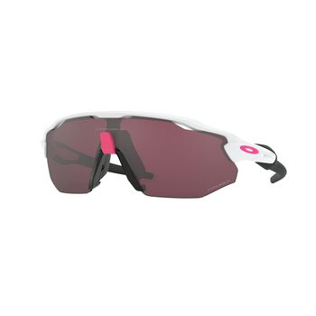 Oakley Radar EV Advancer Prizm™ Road Black - Polished White sportsbriller Herre Hvit