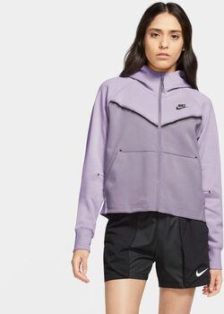 Nike Tech Fleece Windrunner hettejakke dame Lilla
