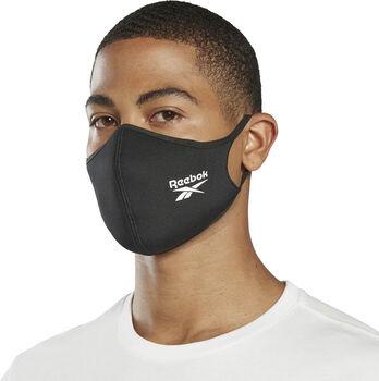Reebok Face Covers M/L munnbind  3-pack Svart