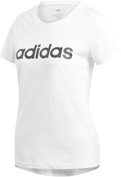 adidas Essentials Linear t-skjorte dame Hvit