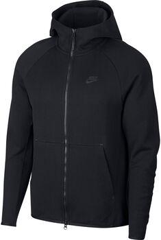 Nike Tech Fleece hettejakke herre Svart