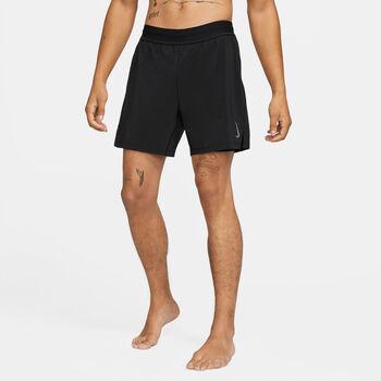 Nike Yoga 2-i-1 shorts herre Svart