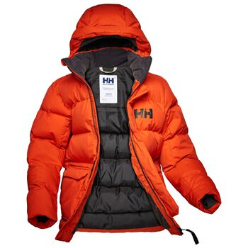 Helly Hansen Urban Puffy Parka junior Oransje