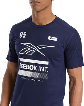 Reebok Speedwick Graphic Move teknisk t-skjorte herre Blå