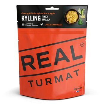 REAL turmat Kylling Tikka Masala 500 gram Rød