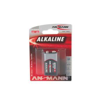ANSMANN Alkaline 9V batteri Grå