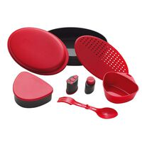 Meal Set Red servisesett