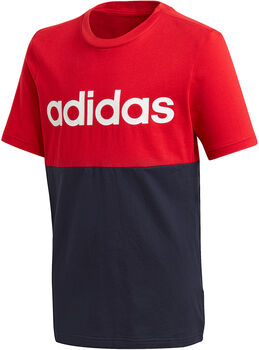 adidas  Linear Colorblock t-skjorte junior Flerfarvet
