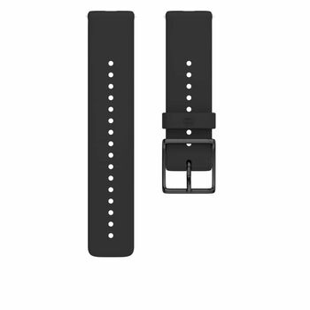 Polar Ignite Sort Silikon M/L klokkereim Svart