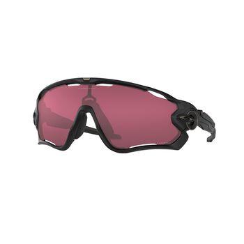 Oakley Jawbreaker Prizm™ Snow Black - Matte Black sportsbriller Rød