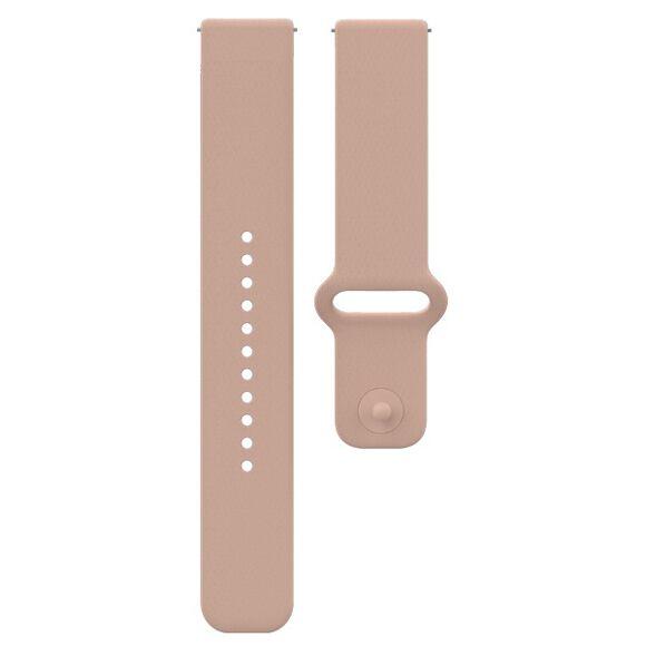 Unite/Ignite 20 mm Blush Silikon klokkereim