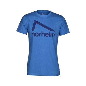Norheim Granitt Logo t-skjorte herre Blå