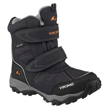 VIKING footwear Bluster II GTX vintersko barn/junior Svart