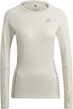 adidas Runner Long Sleeve teknisk genser dame Hvit