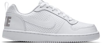 Nike Court Borough Low fritidssko junior Hvit