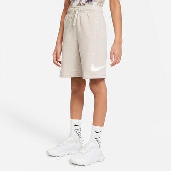 Nike Sportswear Swoosh shorts junior Beige