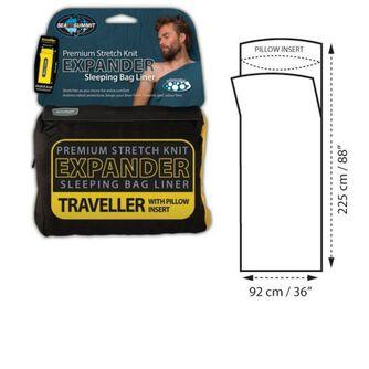 Travel laken expander m/ pute