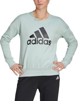 adidas Badge of Sport Crew genser dame Grønn