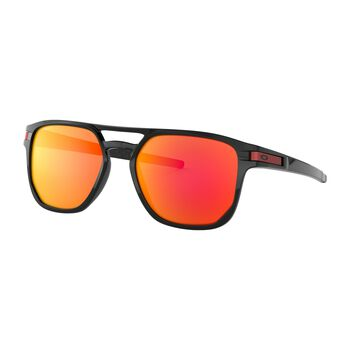 Oakley Latch Beta Prizm™ Ruby - Polished Black solbriller Herre Svart