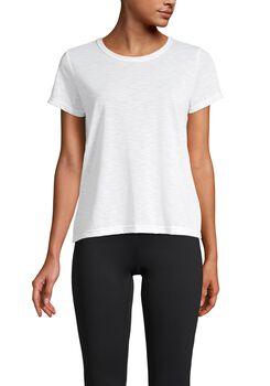 Casall Texture Tee teknisk t-skjorte dame Hvit