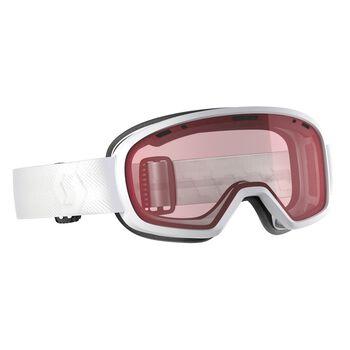 SCOTT Goggle Muse Enhancer alpinbrille Dame Hvit