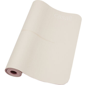 Casall Position 4 mm yogamatte Grå