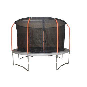 SUPERFLY Rund trampoline 3,96 meter Flerfarvet