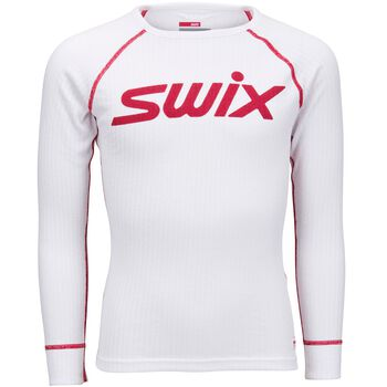Swix RaceX Body superundertøyoverdel junior Hvit