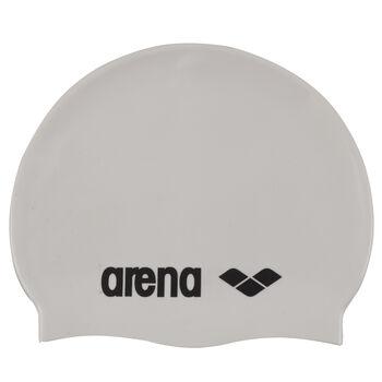 Arena Classic Silicone badehette senior Herre Hvit