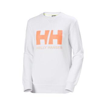 Helly Hansen HH Logo Crew genser dame Hvit