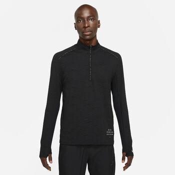 Nike Dri-FIT Element Run Division teknisk genser herre Svart