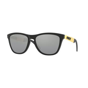 Oakley Frogskins Mix Prizm™ Black - Polished Black Gold solbriller Grå