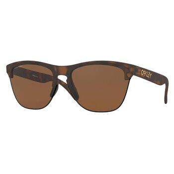Oakley Frogskins Lite Matte Brown Tortoise - Prizm™ Tungsten solbriller Herre Brun