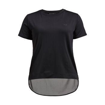 Röhnisch Mesh Back teknisk t-skjorte dame Svart