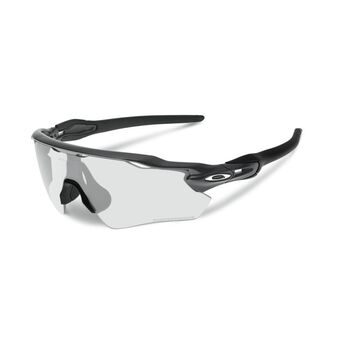 Oakley Radar EV Path Clear To Black Photochromic - Steel sportsbriller Herre Flerfarvet