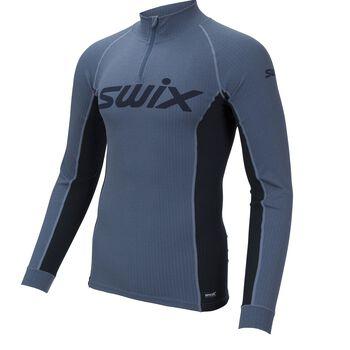 Swix RaceX Halfzip treningsgenser herre Blå