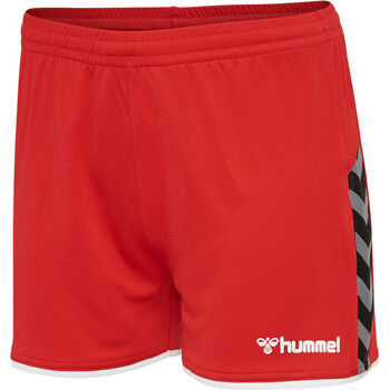 Hummel hmlAuthentic Poly shorts dame Rød