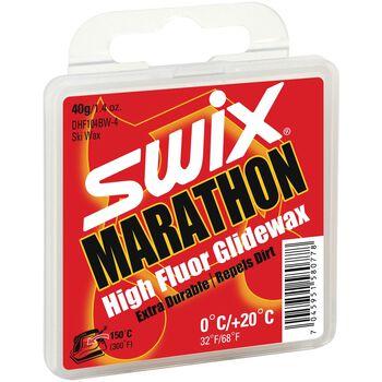 Swix DHF104BW Marathon fluorglider Rød