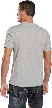 Reebok TS Speedwick Graphic Q1 teknisk t-skjorte herre Grå