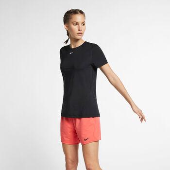 Nike Pro All Over Mesh teknisk t-skjorte dame Svart
