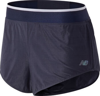 New Balance Q Speed Track shorts dame Blå